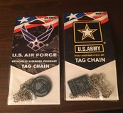 Army/Air Force Tag Chains in Naperville, Illinois