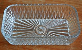 French glass tray/container by Duralex in Okinawa, Japan
