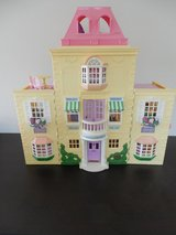 Fisher-Price Doll House w/furniture-figures - Like New Condition in Sandwich, Illinois