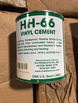 HH-66 Vinyl Cement - 10- 1 Quart Cans (32 oz) - Tarp Repair - Vinyl Repair- waterproof. in Warner Robins, Georgia