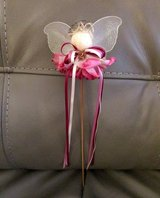 Angel (flower, ribbon) pick in Tomball, Texas