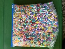 Gallon bag of pony beads in Chicago, Illinois