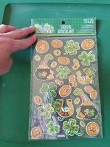 St Patricks day stickers in St. Charles, Illinois
