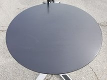 Black Cafe Table - Round (4 available) in Plainfield, Illinois