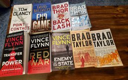 9 Paperback Books in Fort Riley, Kansas
