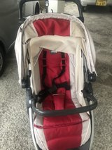 3 in 1 Chico bravo stroller and baby car seat with base in Okinawa, Japan