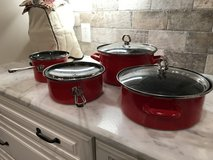 Set of 4 Chantel cooking pots-reduced in Conroe, Texas