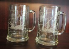 Nina and Pinta Ships - Columbus - Mugs or Tankards  (Father's Day Idea) in Conroe, Texas