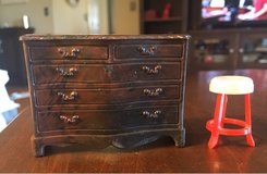 Vintage Dollhouse Dresser/Stool in St. Charles, Illinois