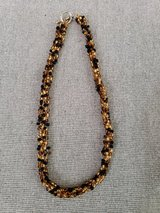 Black/gold beaded Necklace in Plainfield, Illinois