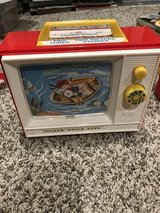Fisher price music box tv in St. Charles, Illinois
