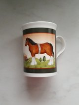 Horses coffee mug in Ramstein, Germany