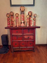 Antique 7 drawer table from Oriental Place in Okinawa, Japan