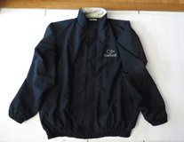 HANDSOME Men's Black Kaanapali Lined Tailored Golf Jacket by designer ROCHE - XLrg Like New! in Naperville, Illinois