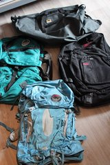 big bags hiking duffle backpack camping in Ramstein, Germany