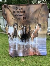 horse shower curtain in Cleveland, Texas