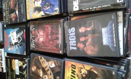 Indoor yard sale Cheap hundreds  of cds dvds vhs old n new in Cherry Point, North Carolina