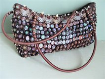 Mido Festive Handbag with Shells, Seeds, Beads, Sequins in San Antonio, Texas