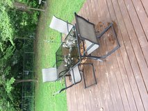 outdoor furniture table 6 chairs in Cherry Point, North Carolina