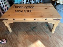 rustic coffee table in Cleveland, Texas