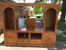 3 section entertainment center in Baytown, Texas
