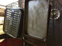 Broiler pan and 2 cookie sheets in Baytown, Texas