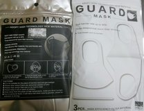 GUARD MASK BLACK WHITE 6 PCS in Okinawa, Japan