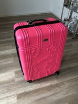Hot Pink Suitcase (Hawaii Emblem) in Yongsan, South Korea