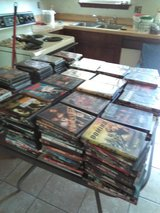 Indoor Yard Sale Today Cheap 224 Webb Blvd Havelock Nc hundreds of CDs DVDs Vhs Tapes in Cherry Point, North Carolina