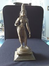 Solid brass indian figurine in Kingwood, Texas