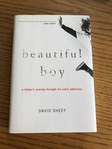 """""""Beautiful Boy"""" Hardcover Book by David Sheff in Naperville, Illinois"""