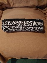 "Fleece Feel Zebra Print  Neck Cervical Lumbar Cushion Roll Pillow 14"" x  3 1/2"" in Fort Leonard Wood, Missouri"