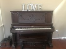 1900's Antique Upright Ivers & Pond Boston Piano in The Woodlands, Texas