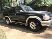 2000 Black Eddie Bauer Edition Ford Explorer in Tomball, Texas