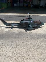 align 500 scale Rc Cobra helicopter in Camp Pendleton, California