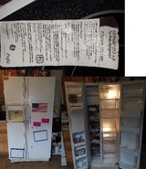 GE side by side refrigerator in Fort Campbell, Kentucky