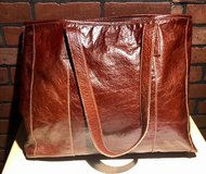 Large Leather Tote Bag in Kingwood, Texas