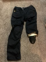 Bilt Iron Workers protective lined riding jeans in Fort Leonard Wood, Missouri