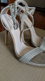 champagne ankle strap heels in Okinawa, Japan