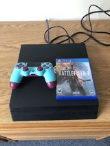 PS4 Pro with custom controller and game in Okinawa, Japan