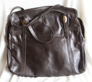 Authentic Italian leather purse by Meschiari in Okinawa, Japan