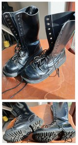 Knightsbridge Combat Boots Lace-up in Lakenheath, UK