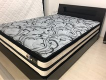 Double bed with mattress in Okinawa, Japan