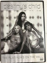 Destiny's Child - The Platiums on The Wall (music Videos)  ( Region 1 or Region Free dvd players... in Okinawa, Japan