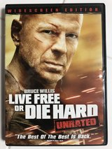 Live Free or Die Hard  ( Region 1 or Region Free dvd players - Canada, the United States ) in Okinawa, Japan