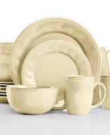 ***BRAND NEW***Rachael Ray Cucina Almond Cream 16-Pc. Set, Service for 4*** 2 SETS in Cleveland, Texas