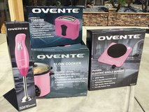 Ovente 4pc. National BREAST CANCER Awareness Pink Kitchen Set in Travis AFB, California