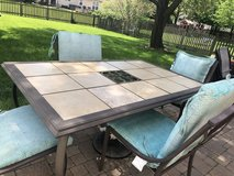 Patio Dining Table and Chairs in Batavia, Illinois
