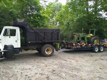 tractor and dump truck work in DeRidder, Louisiana