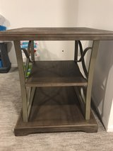Two end tables in Plainfield, Illinois